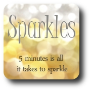 Sparkles Badge rounded